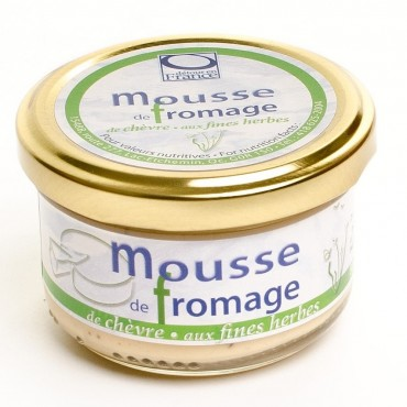 Mousse fromage chèvre